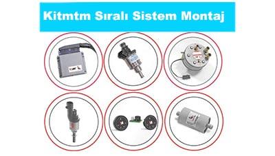 Kitmtm Sıralı Sistem Lpg Montajı Fiyatları